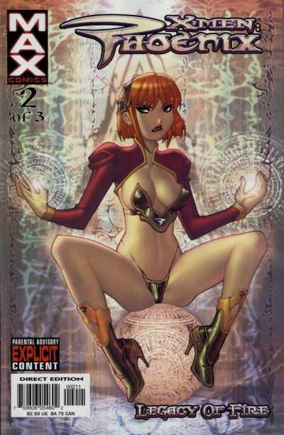 X-Men: Phoenix Legacy of Fire Vol 1 2