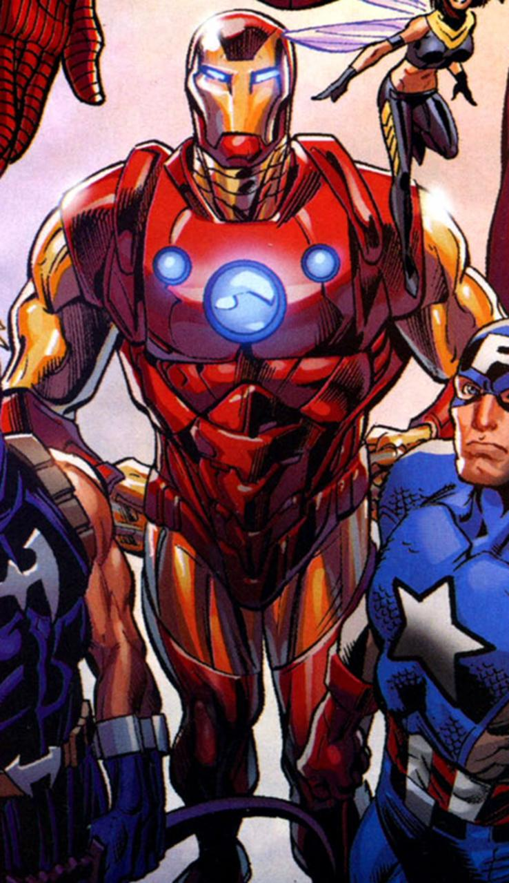 Iron Man Armor (Ultimates 3) (Earth-1610)