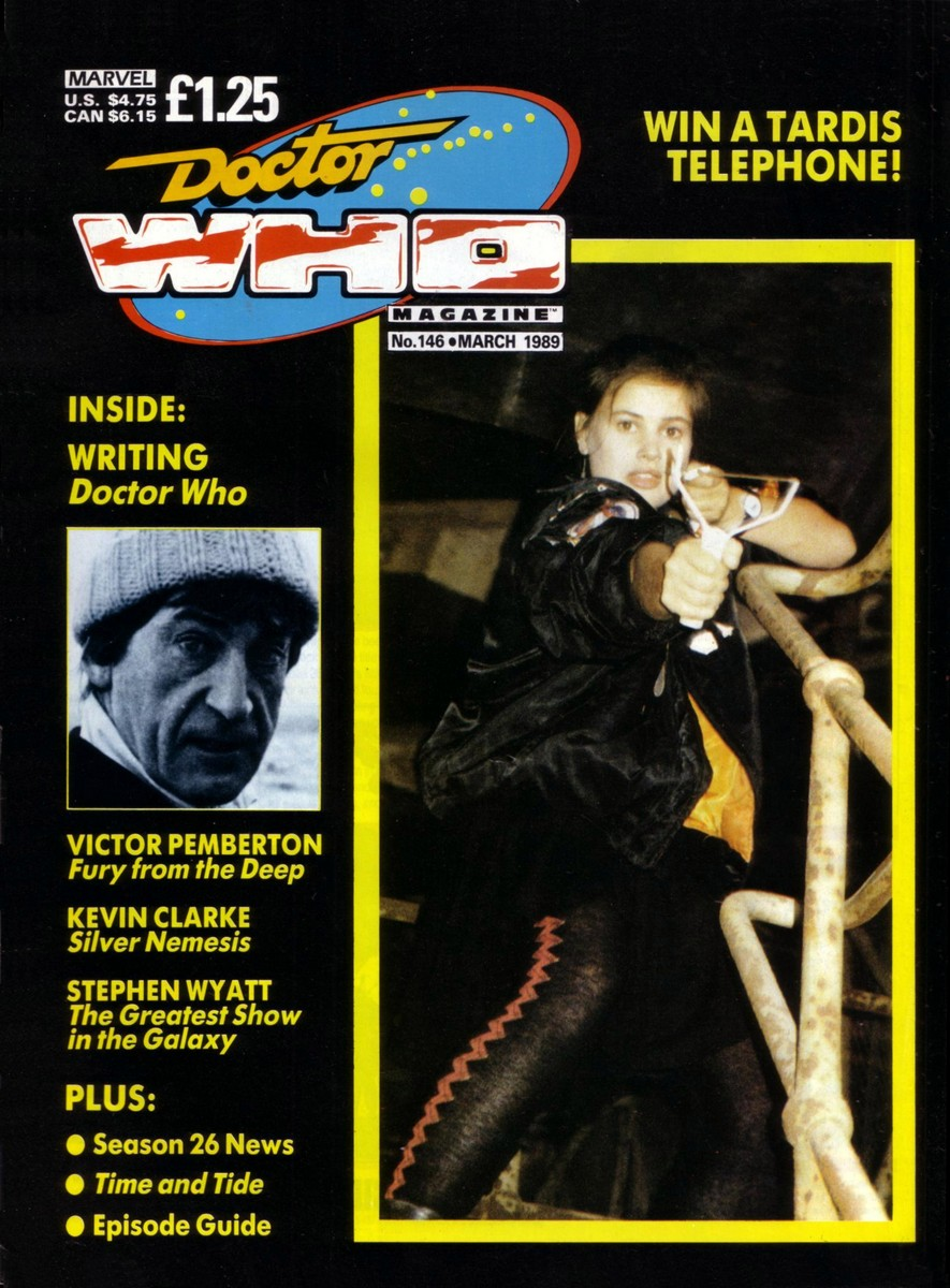 Doctor Who Magazine Vol 1 146