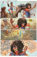 Kamala Khan (Earth-616) and Trash Construct (Earth-616) from All-New Marvel NOW! Point One Vol 1 1.NOW 001
