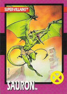 Karl Lykos (Earth-616) from X-Men Trading Cards 1992 Set 0001