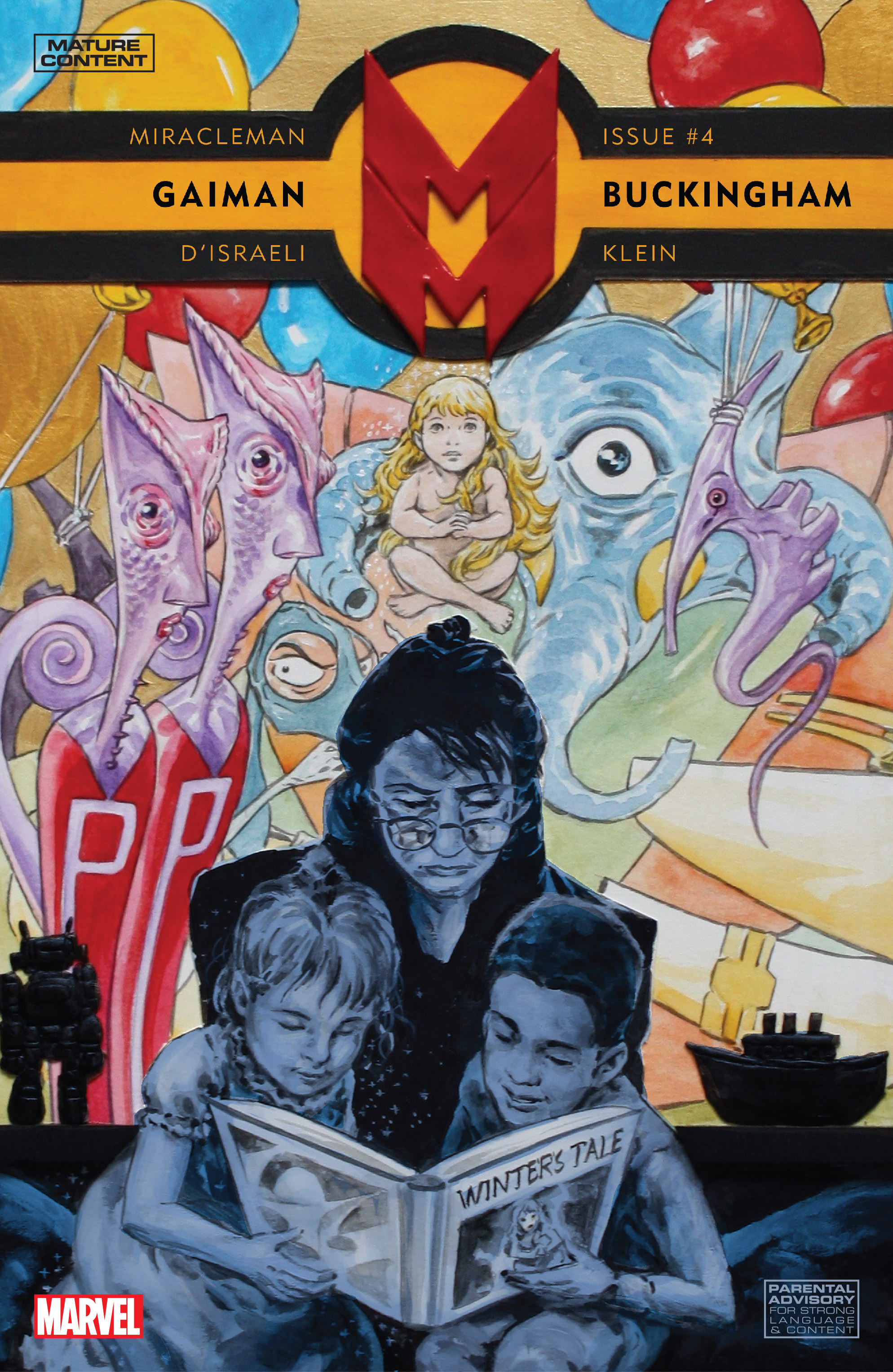 Miracleman by Gaiman & Buckingham Vol 1 4