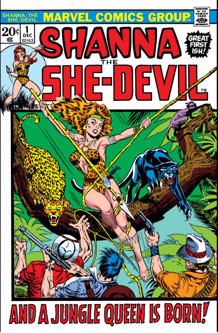 Shanna, The She-Devil Vol 1 1
