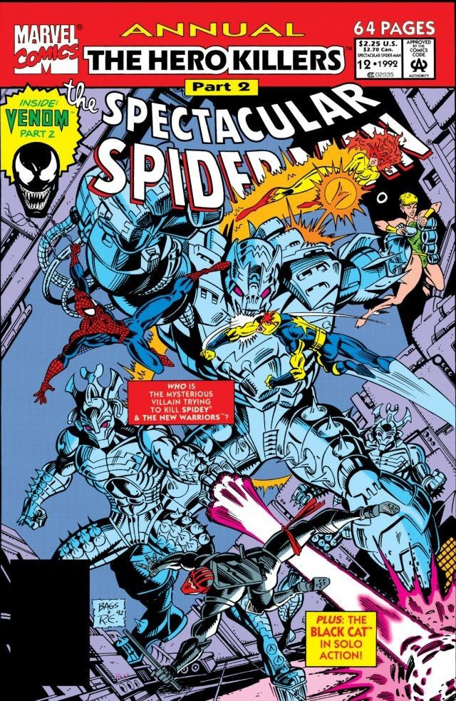 Spectacular Spider-Man Annual Vol 1 12