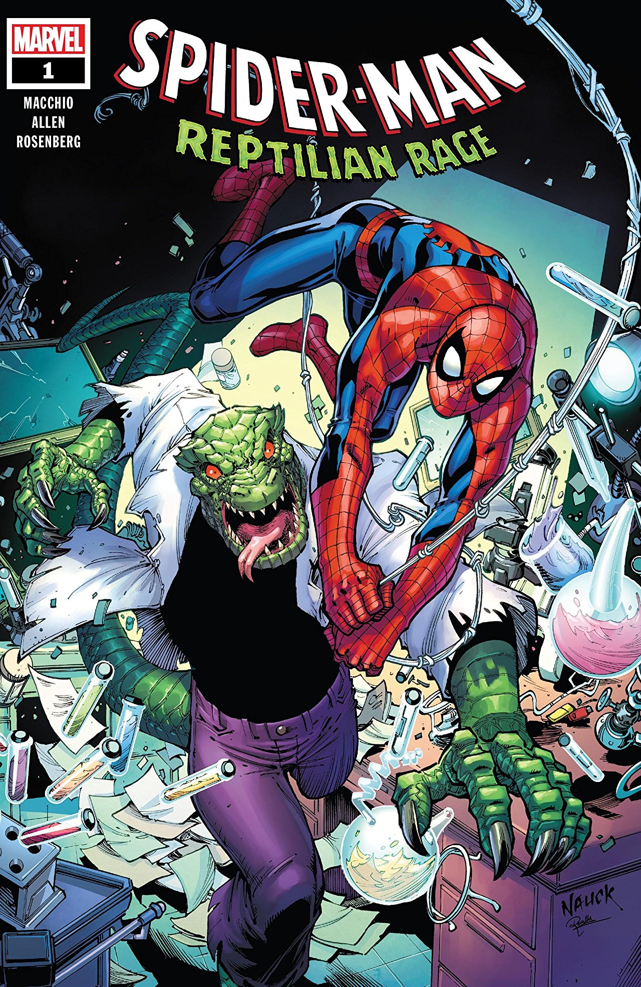 Spider-Man: Reptilian Rage Vol 1 1