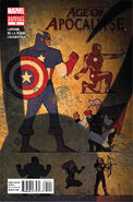 Age of Apocalypse Vol 1 2 Avengers Variant