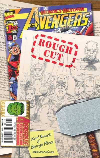Avengers Rough Cut Vol 1