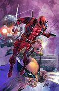 Deadpool Badder Blood Vol 1 1 Textless
