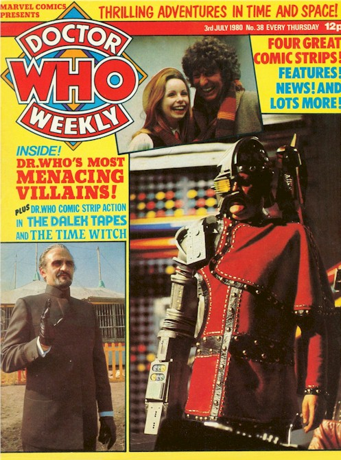 Doctor Who Weekly Vol 1 38