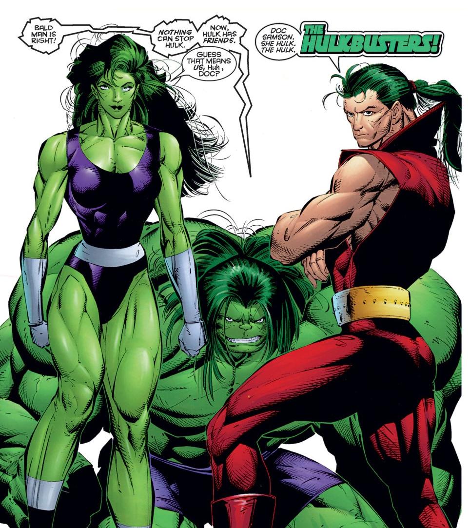 Hulkbusters (Heroes Reborn) (Earth-616)/Gallery