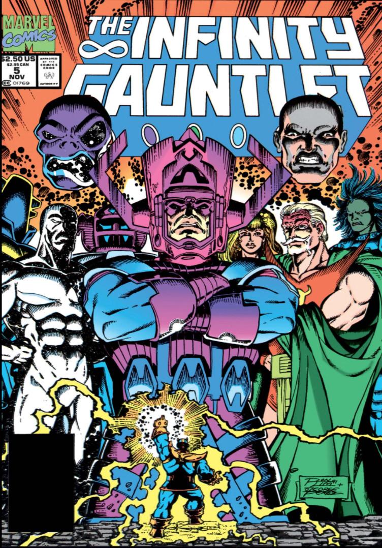 Infinity Gauntlet Vol 1 5