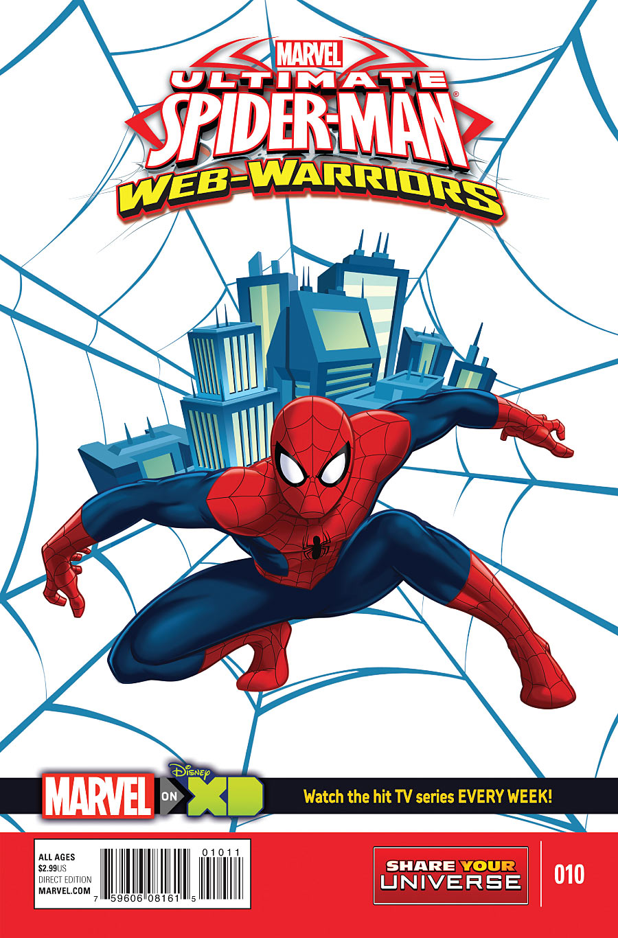 Marvel Universe Ultimate Spider-Man: Web Warriors Vol 1 10