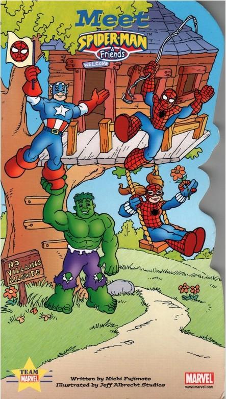Meet Spider-Man & Friends Vol 1