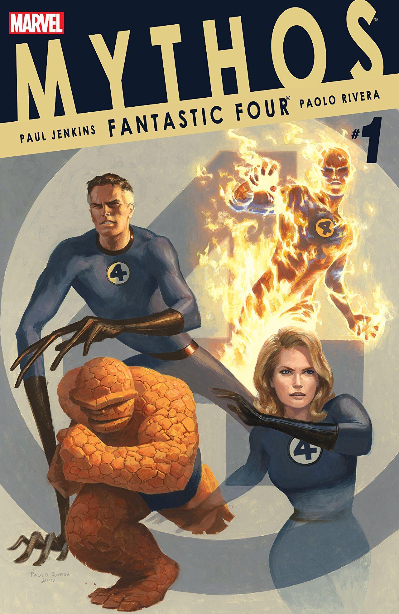 Mythos: Fantastic Four Vol 1 1