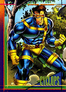 Scott Summers (Earth-616) from Marvel Universe Cards Series IV 0001