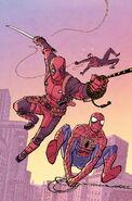 Spider-Man Deadpool Vol 1 3 Chiang Variant Textless
