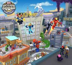 Super Hero City from Marvel Super Hero Squad Online 001.jpg