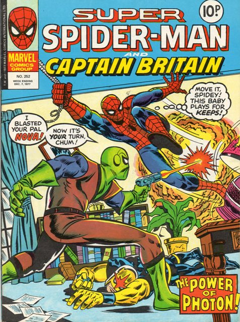 Super Spider-Man & Captain Britain Vol 1 252