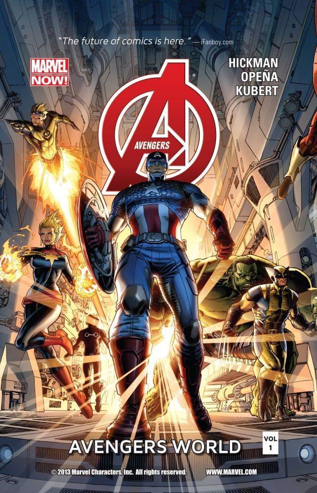 Avengers TPB Vol 5 1: Avengers World