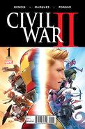 Civil War II Vol 1 1 Marquez Variant