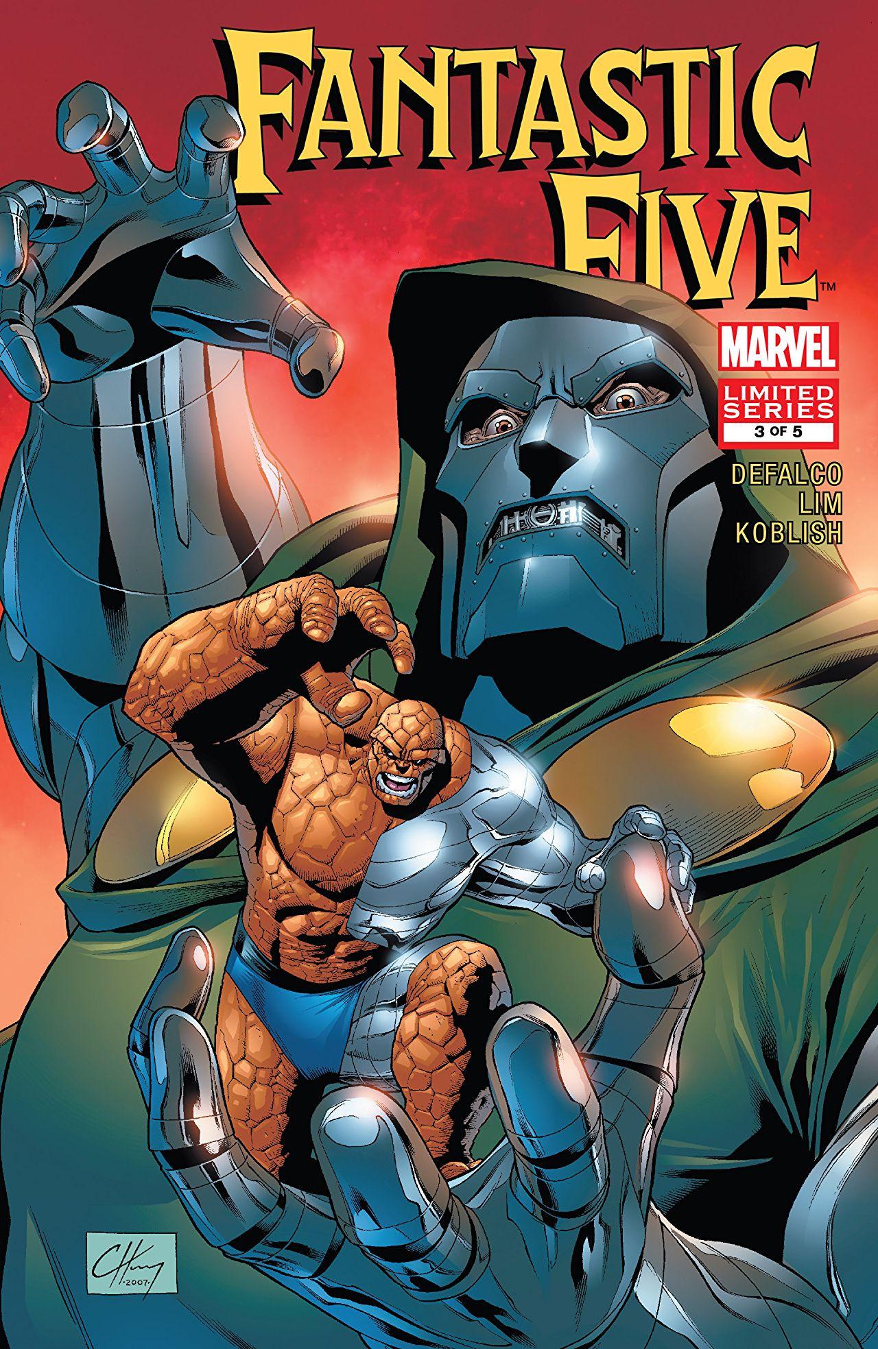 Fantastic Five Vol 2 3