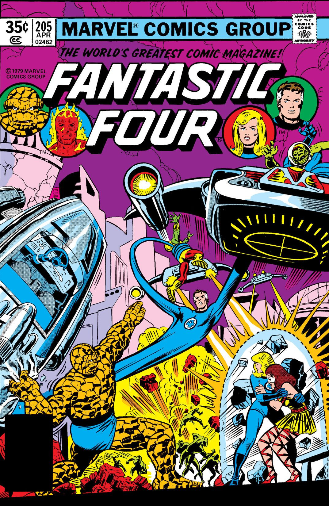 Fantastic Four Vol 1 205