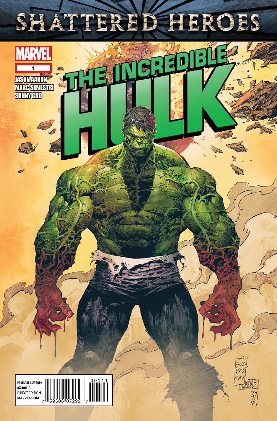 Incredible Hulk Vol 3 1