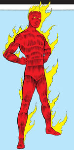 Jonathan Storm (Earth-616) from Official Handbook of the Marvel Universe Vol 1 5 0001
