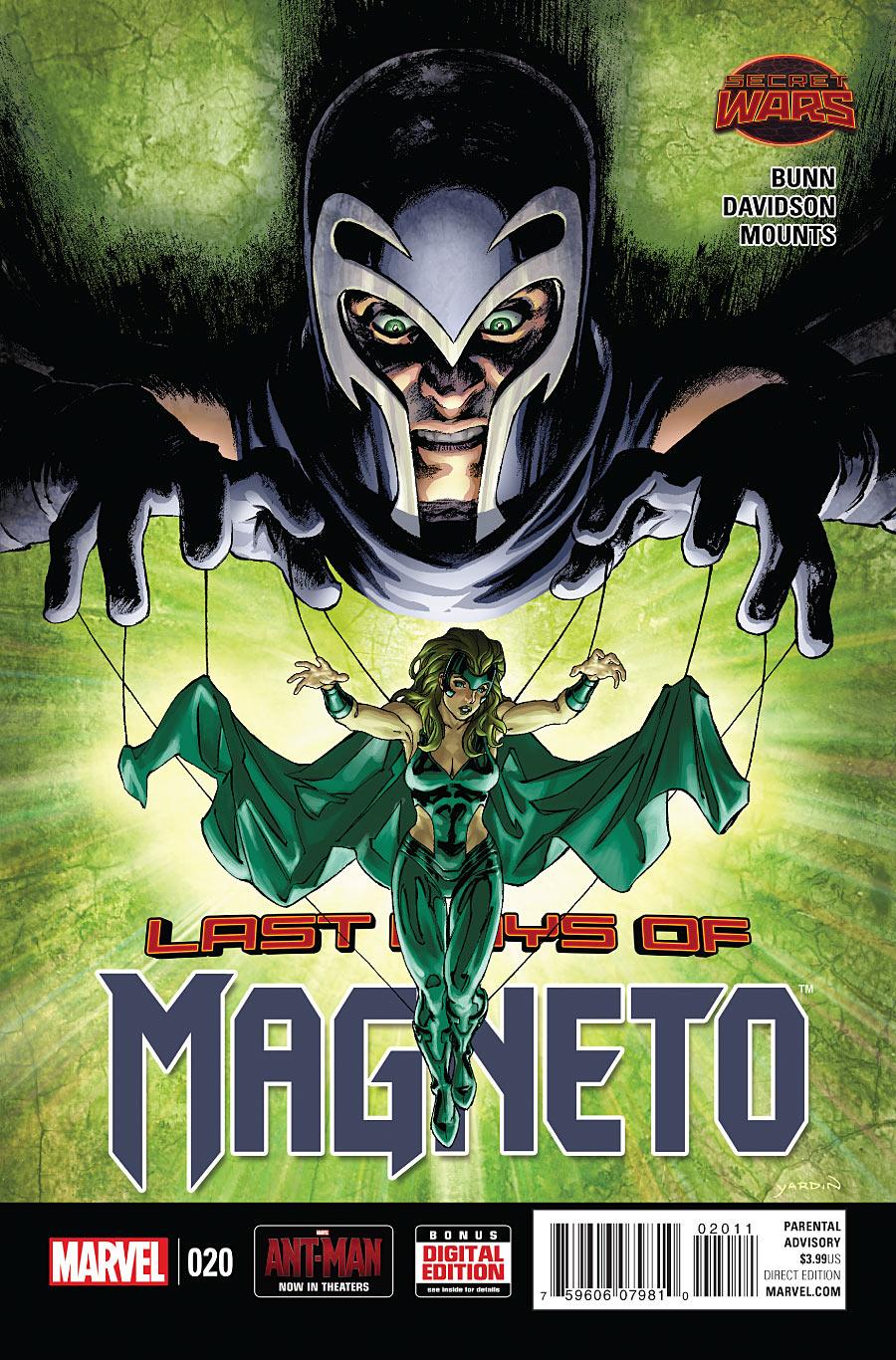 Magneto Vol 3 20