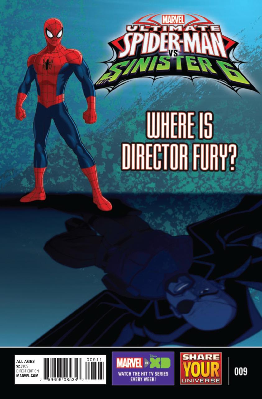Marvel Universe Ultimate Spider-Man vs. the Sinister Six Vol 1 9