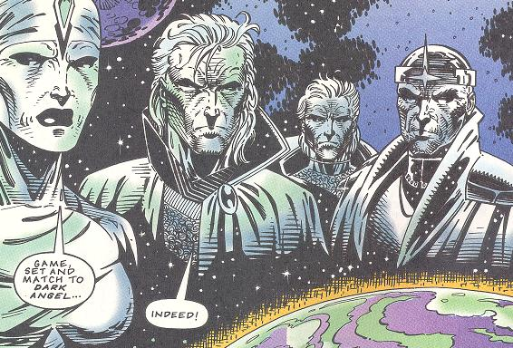 Matrix Masters (Earth-616)/Gallery