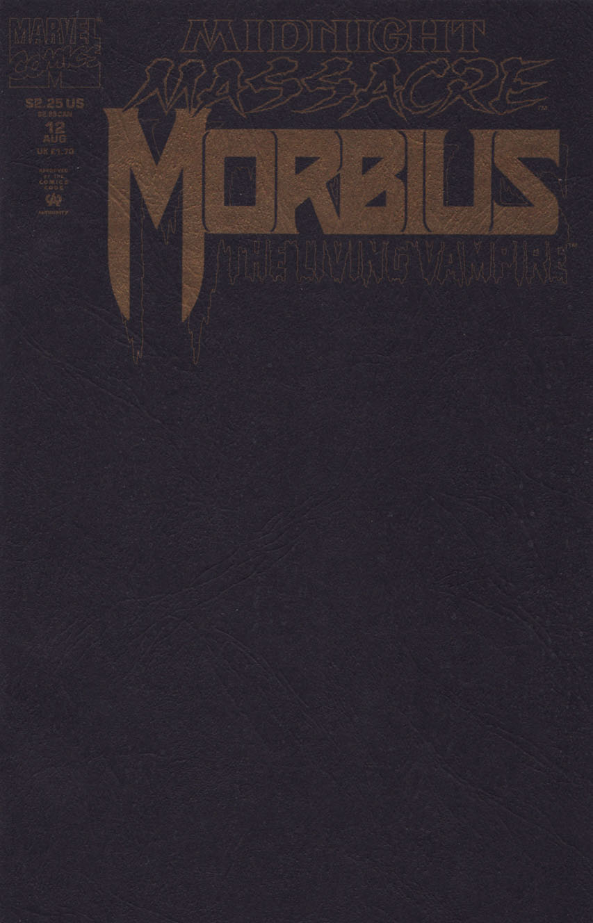 Morbius: The Living Vampire Vol 1 12