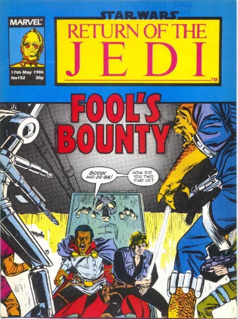 Return of the Jedi Weekly (UK) Vol 1 152