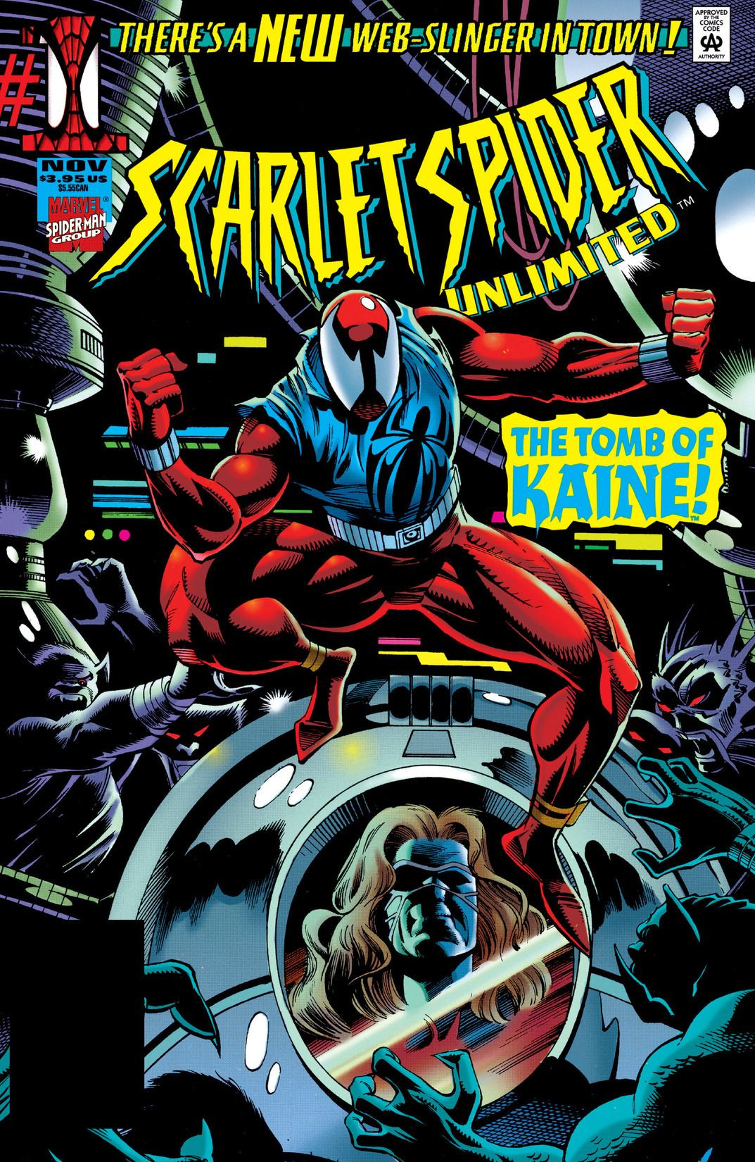 Scarlet Spider Unlimited Vol 1 1