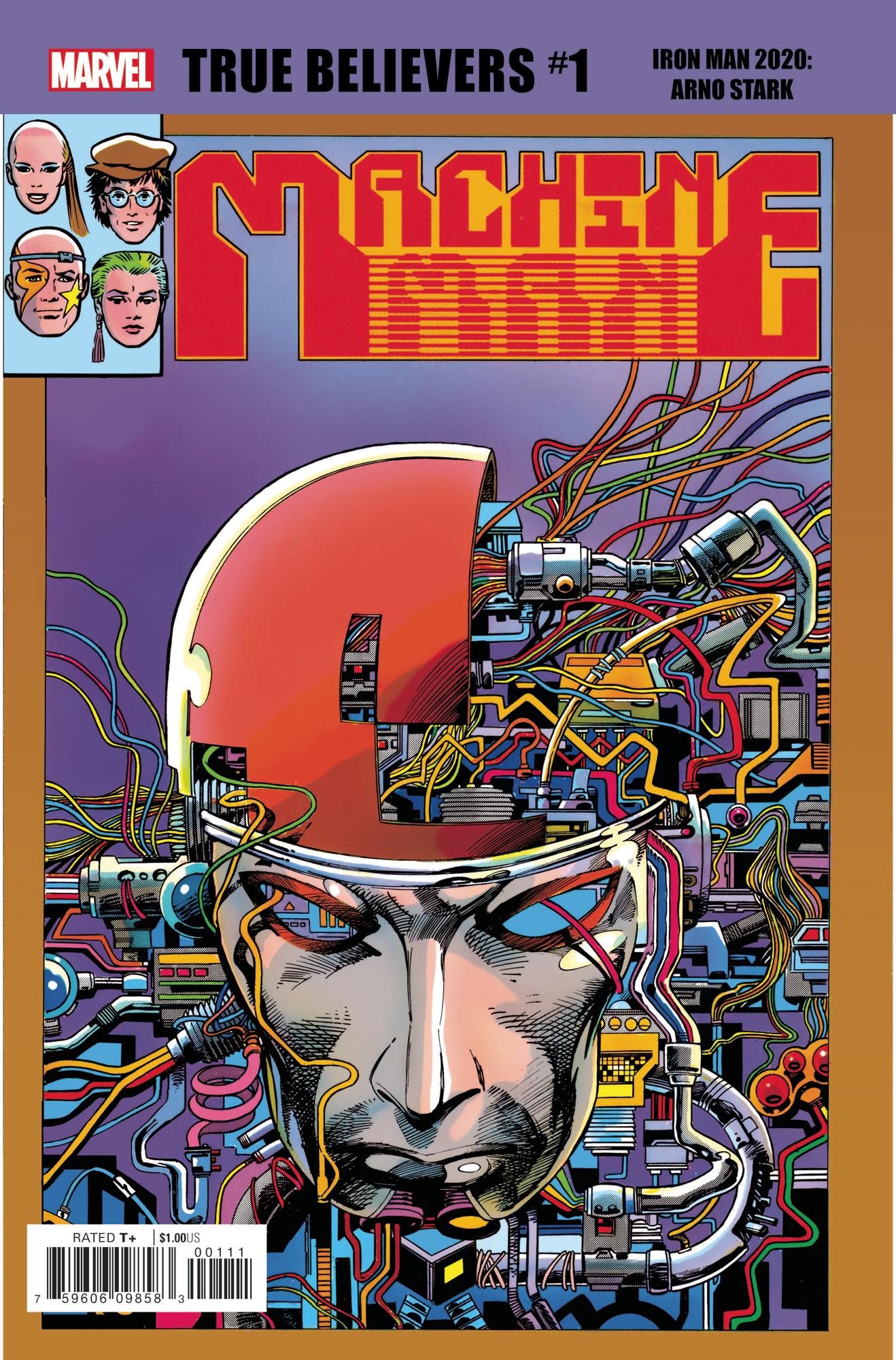 True Believers: Iron Man 2020 - Arno Stark Vol 1 1
