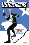 U.S.Avengers Vol 1 1 South Carolina Variant