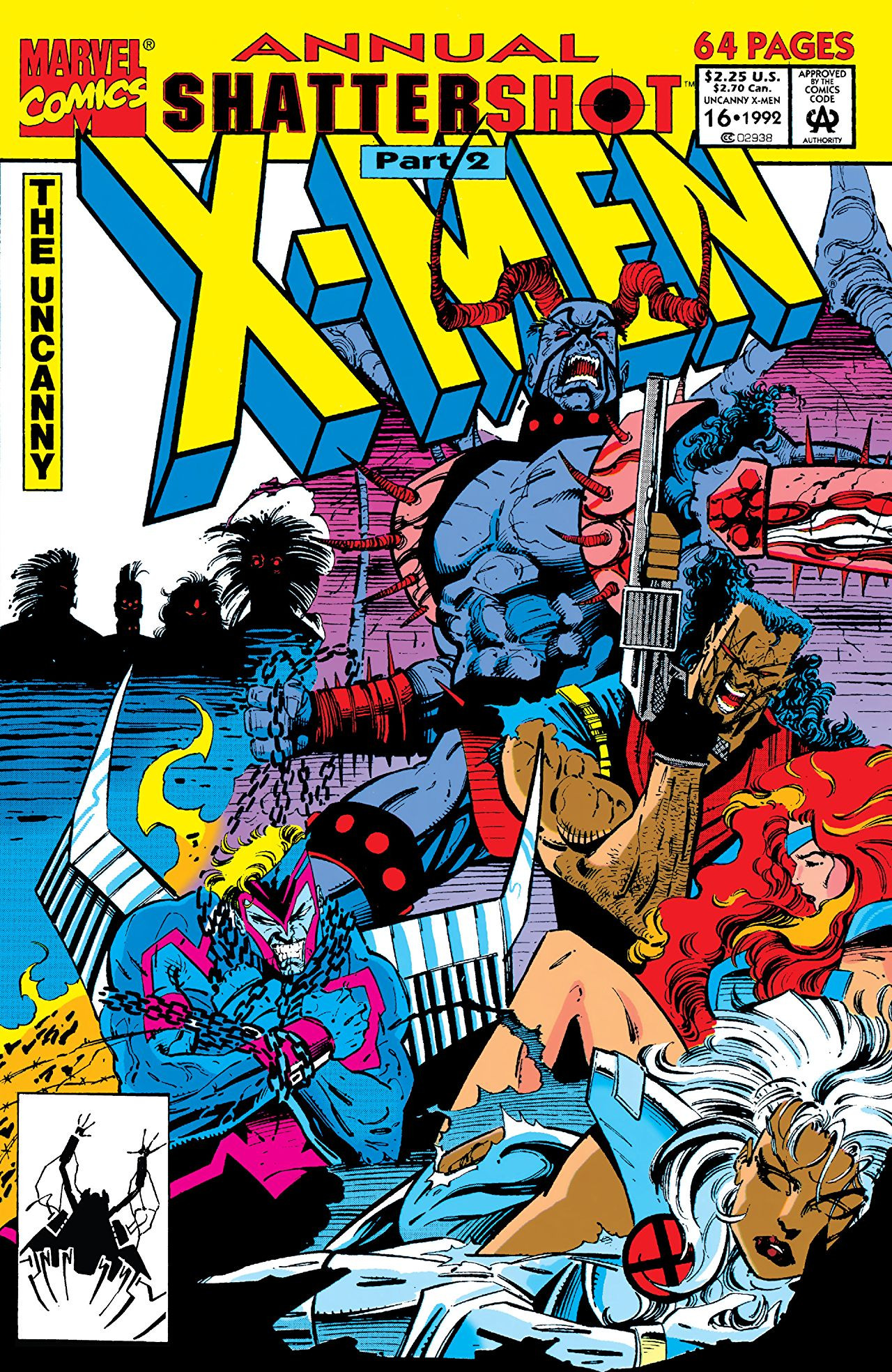 Uncanny X-Men Annual Vol 1 1992