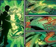 Victor von Doom (Earth-616), Valeria (Latverian) (Earth-616) and Doctor Doom's Mystical Armor from Fantastic Four Vol 3 67 0001.jpg