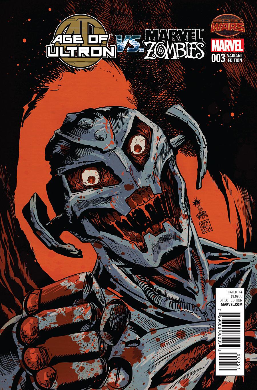 Age of Ultron vs. Marvel Zombies Vol 1 3 Francavilla Variant.jpg