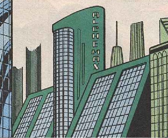Alchemax Headquarters