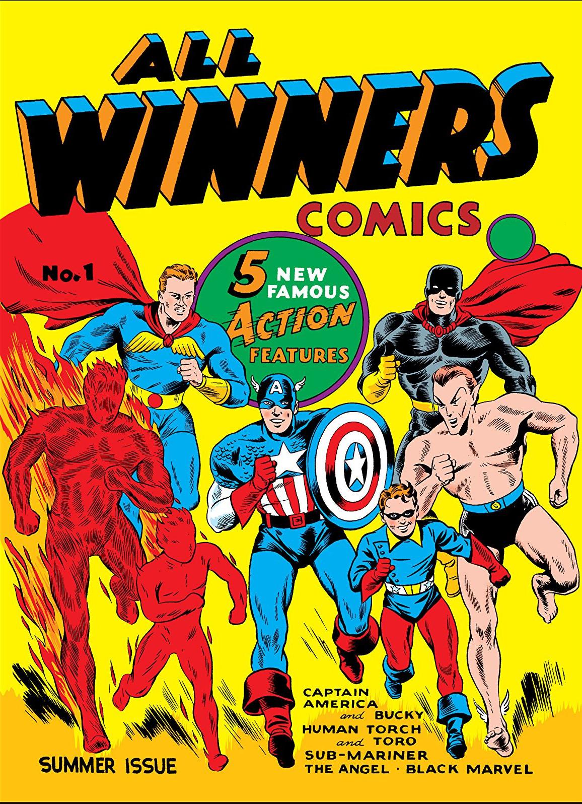 All Winners Comics Vol 1
