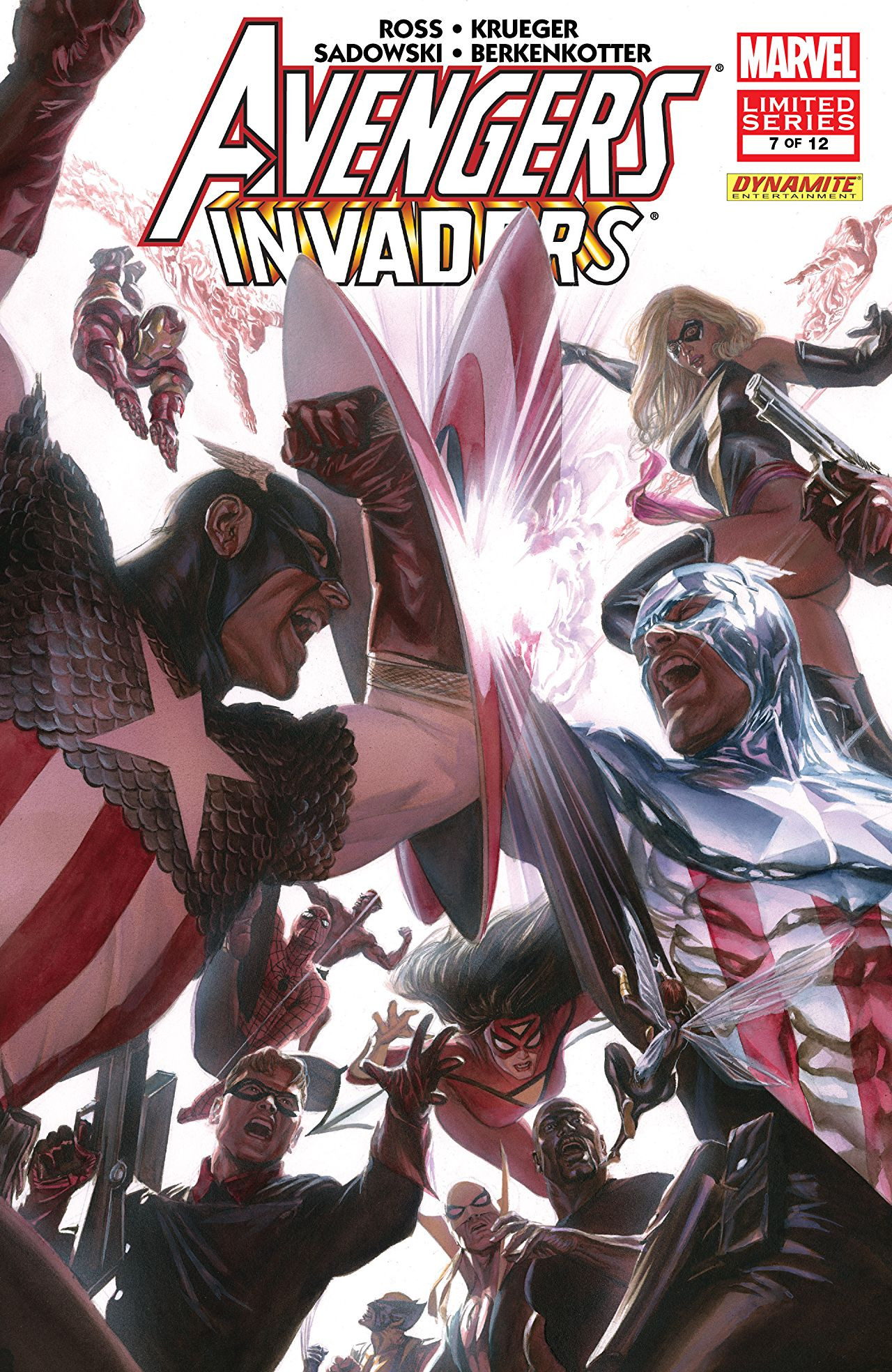Avengers / Invaders Vol 1 7