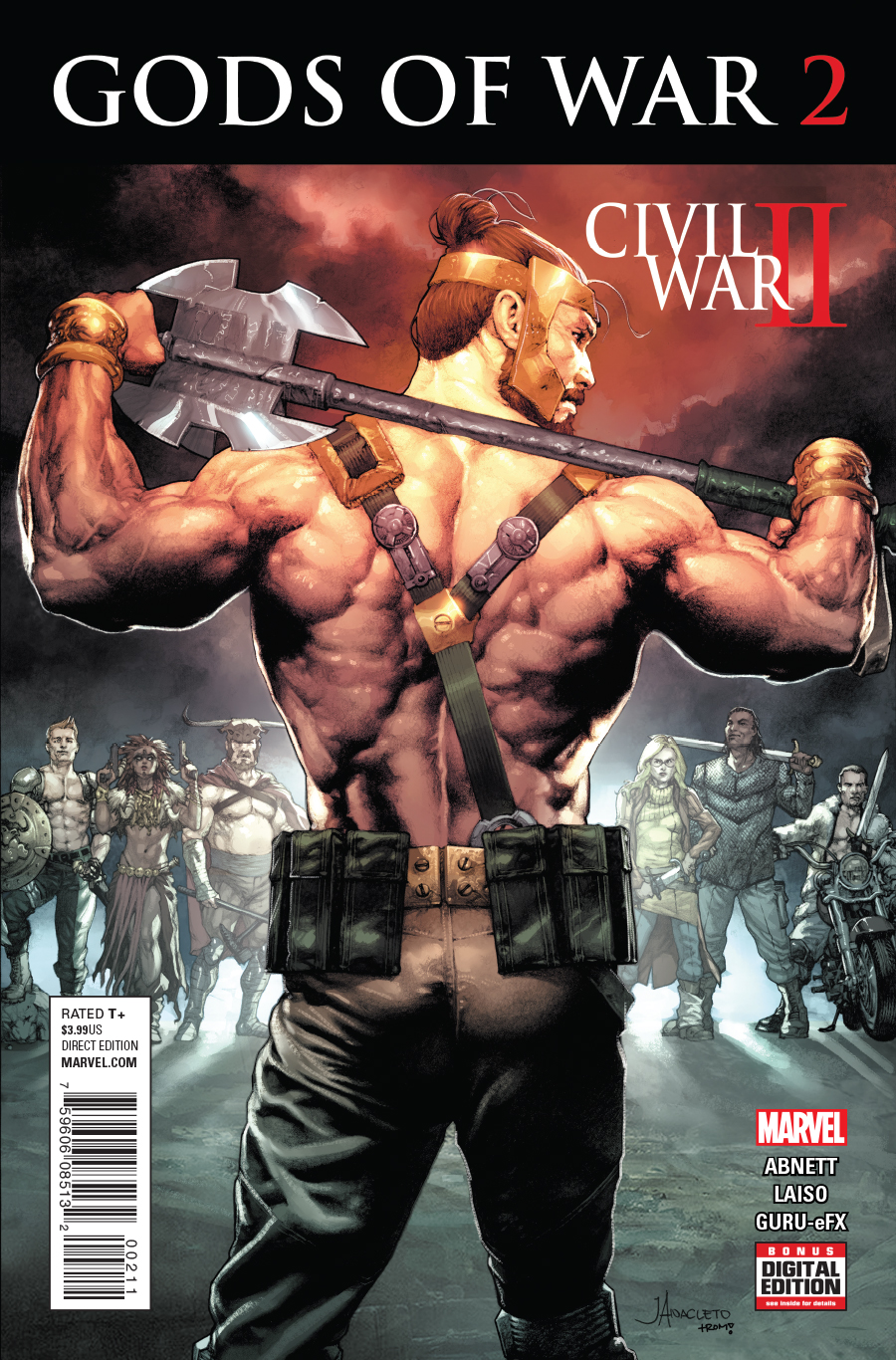 Civil War II: Gods of War Vol 1 2