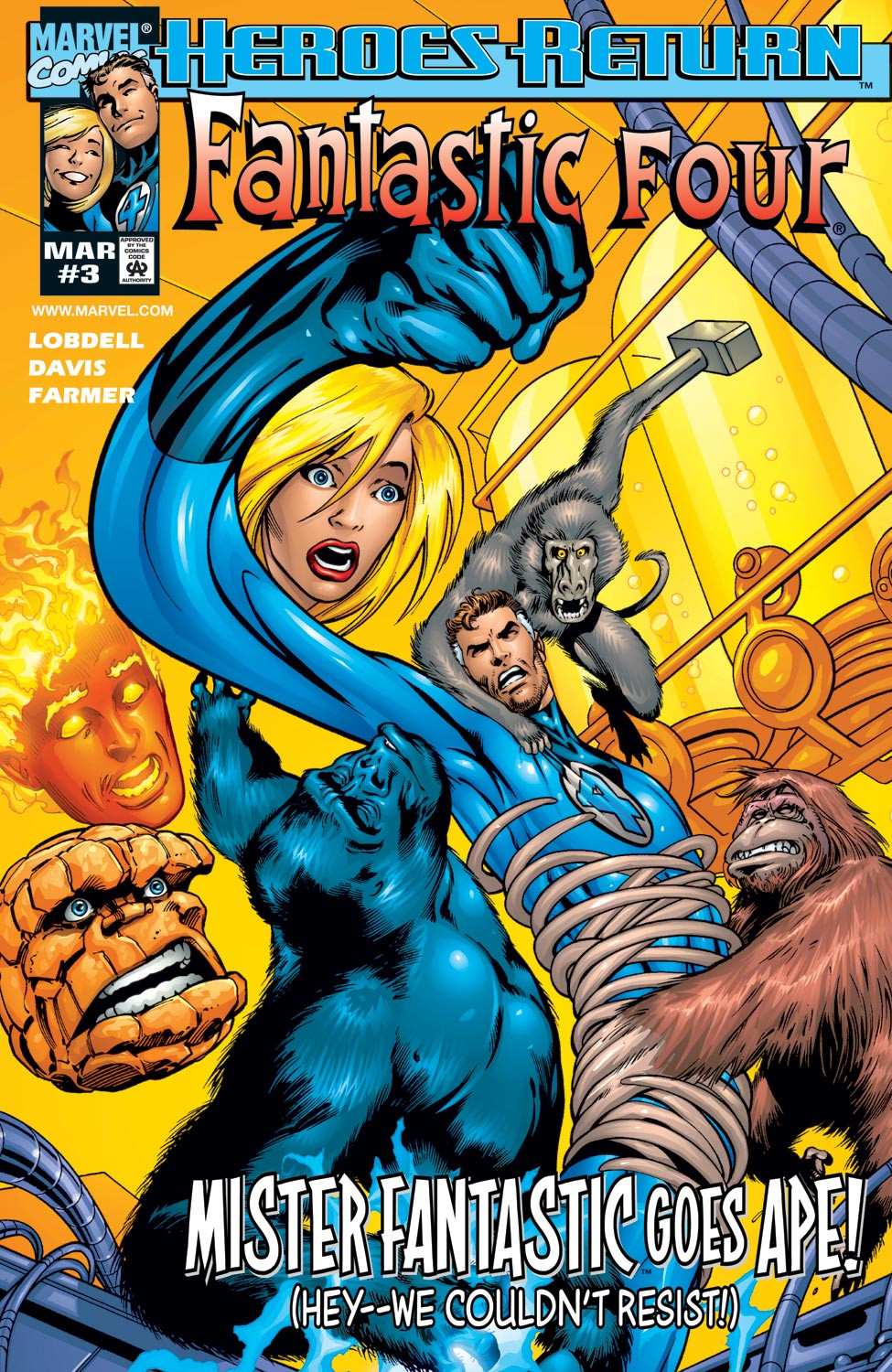 Fantastic Four Vol 3 3