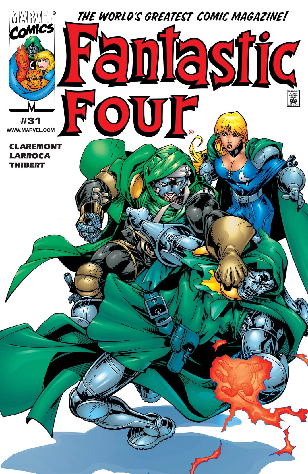 Fantastic Four Vol 3 31