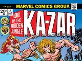 Ka-Zar Vol 2 2