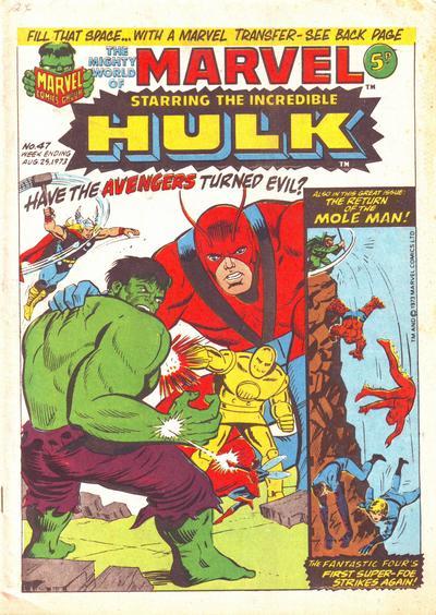 Mighty World of Marvel Vol 1 47