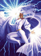 Ororo Munroe (Earth-616) from Marvel Masterpieces Trading Cards 1994 001
