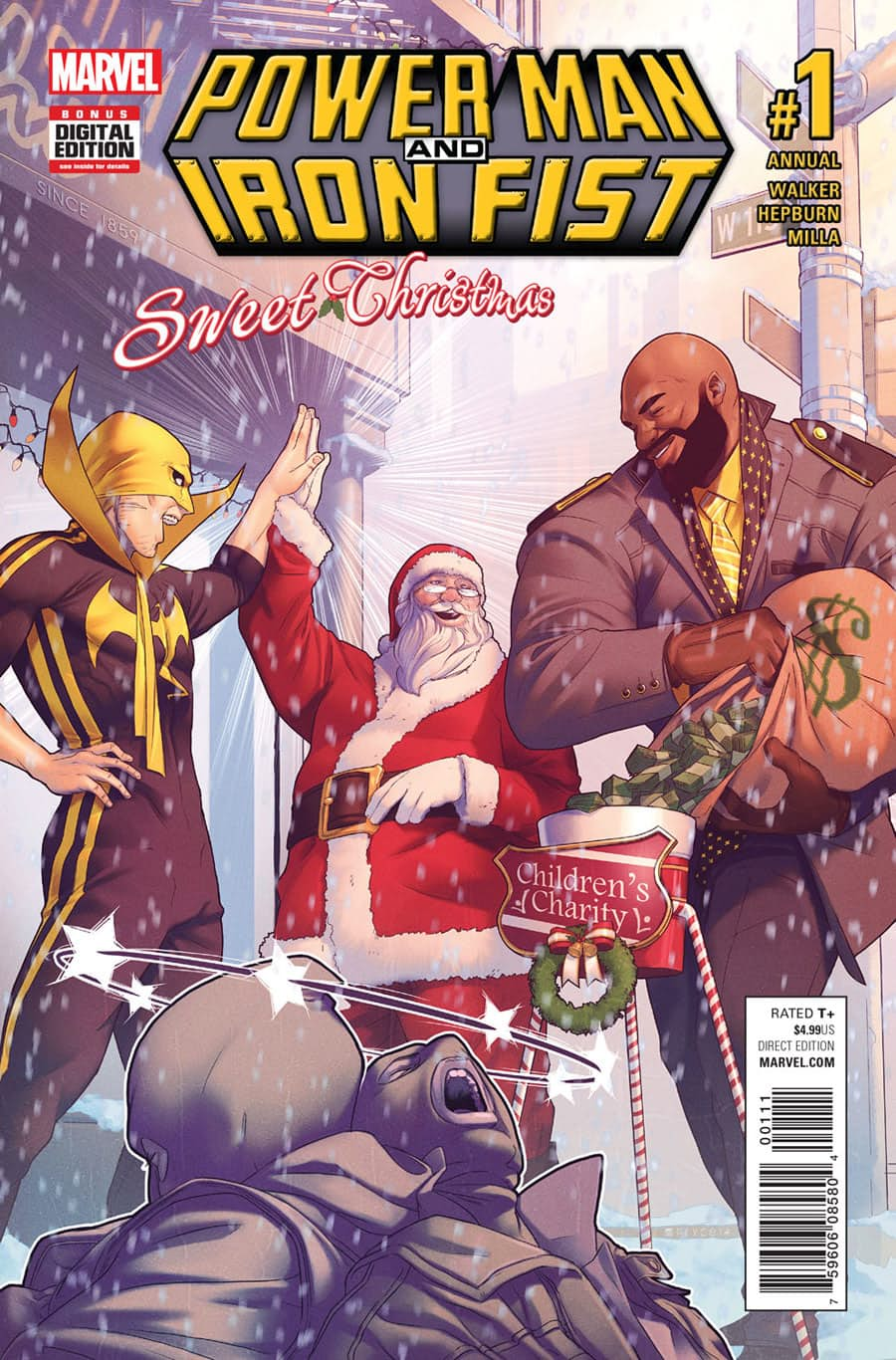 Power Man and Iron Fist: Sweet Christmas Annual Vol 1 1