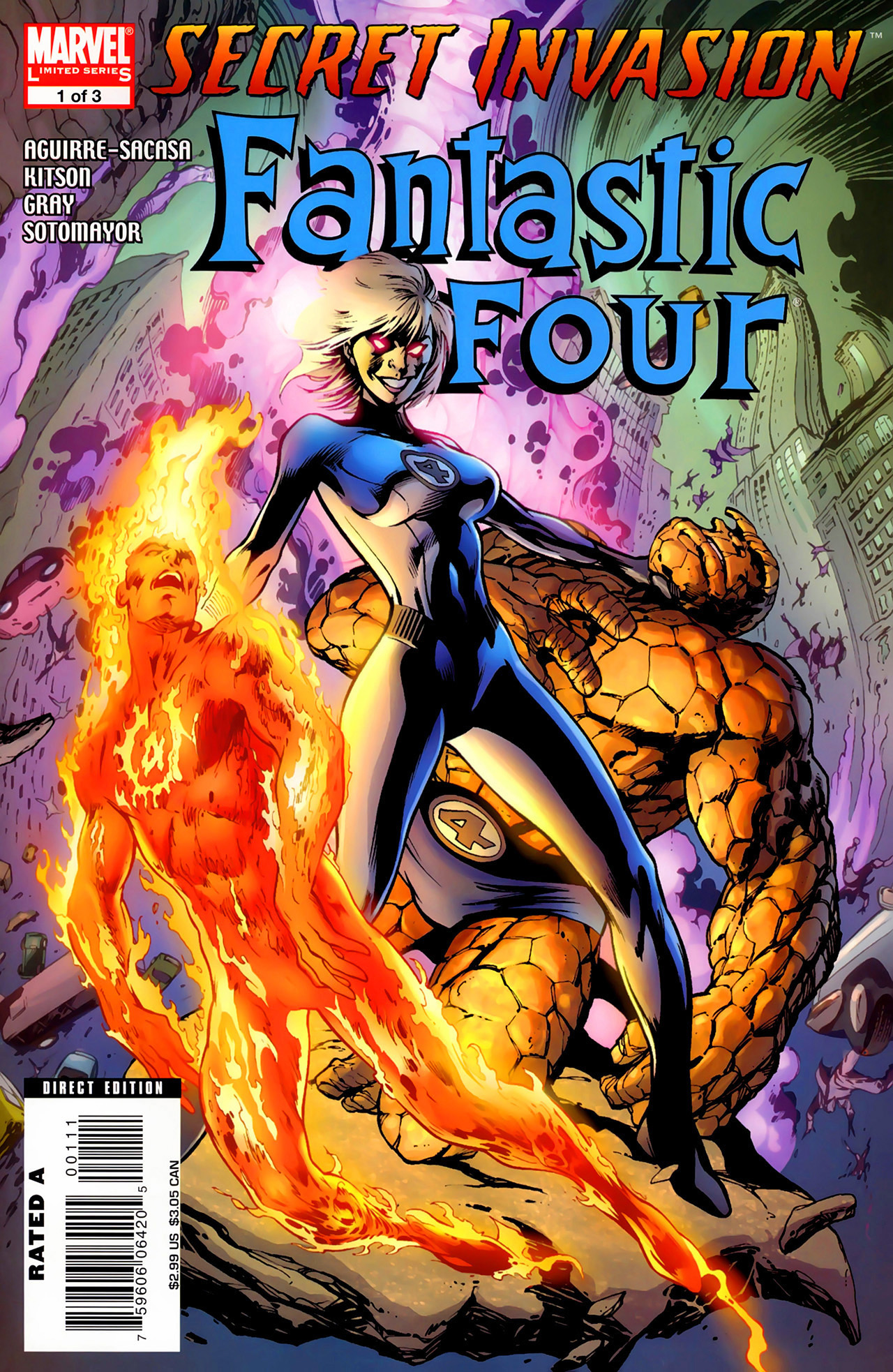 Secret Invasion: Fantastic Four Vol 1 1